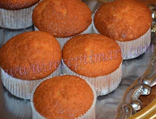 Манные кексы рецепт с пошагово